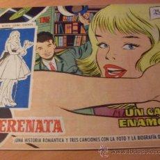 Tebeos: SERENATA Nº 72 ( ORIGINAL ED. TORAY ) DIBUJOS MARIA PASCUAL. CONTRAPORTADA GELU (F1). Lote 25033524