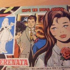 Tebeos: SERENATA Nº 33 ( ORIGINAL ED. TORAY ) DIBUJOS MARIA PASCUAL CONTRAPORTADAVICENTE PARRA (F1). Lote 25034024