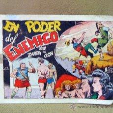 Tebeos: COMIC, ORIGINAL, ZARPA DE LEON, EN PODER DEL ENEMIGO, EDITORIAL TORAY, Nº 38. Lote 25220918