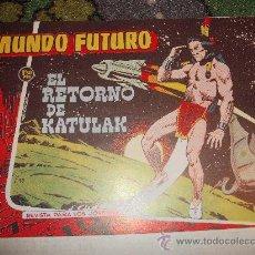 Tebeos: COMIC CIENCIA FICCION TORAY: MUNDO FUTURO 98 EL RETORNO DE KATULAK ULTIMOS NUMEROS REEDICION KA. Lote 37192335