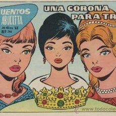 Tebeos: CUENTOS DE LA ABUELITA Nº 346 - UNA CORONA PARA TRES. Lote 25298977