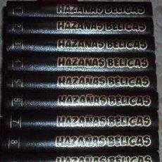 Tebeos: A EXTRENAR, HAZAÑAS BELICAS 10 PRIMEROS TOMOS (1948), ENCUADERNACION GUAFLEX, REEDICION. Lote 25403732