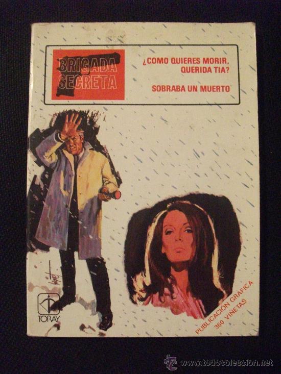 BRIGADA SECRETA Nº 8 EDICIONES TORAY (Tebeos y Comics - Toray - Brigada Secreta)