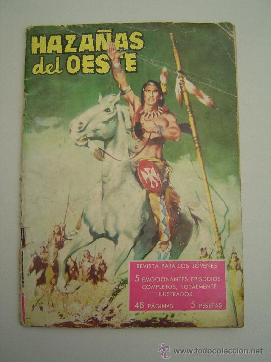 HAZAÑAS DEL OESTE TORAY 1959 (Tebeos y Comics - Toray - Hazañas del Oeste)