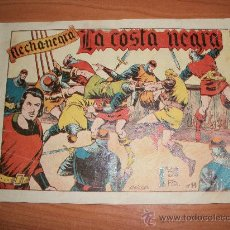 Tebeos: FLECHA NEGRA Nº 14 EDITORIAL TORAY 1950 ORIGINAL . Lote 27165086