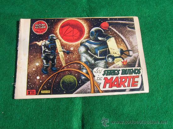 EXCEPCIONAL LOTE 1 AL 7 MUNDO FUTURO ORIGINAL 1956 VER FOTOS CJ 22 (Tebeos y Comics - Toray - Mundo Futuro)