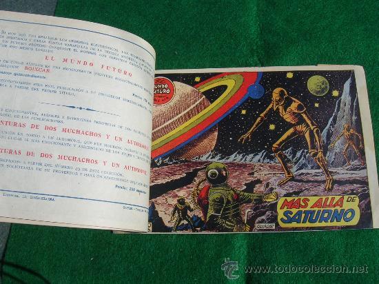 Tebeos: EXCEPCIONAL LOTE 1 AL 7 MUNDO FUTURO ORIGINAL 1956 VER FOTOS cj 22 - Foto 2 - 27460589