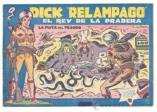 DICK RELAMPAGO Nº. 13, ORIGINAL (Tebeos y Comics - Toray - Dick Relampago)