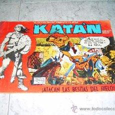 Tebeos: KATAN Nº 9. ATACAN LAS BESTIAS DEL HIELO. PUBLICACION PARA LOS JOVENES. AÑO 1980. Lote 81672634