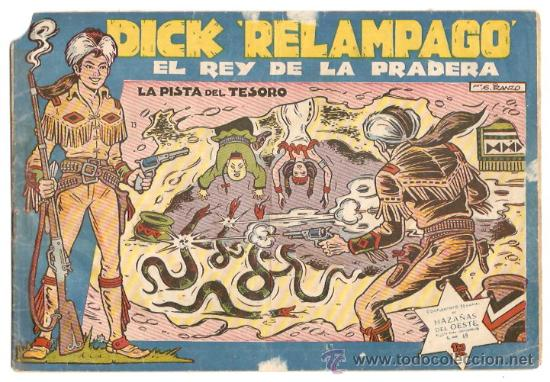 DICK RELAMPAGO Nº 13 - TORAY - ORIGINAL- LEER (Tebeos y Comics - Toray - Dick Relampago)