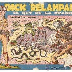 Tebeos: DICK RELAMPAGO Nº 13 - TORAY - ORIGINAL. Lote 26198692