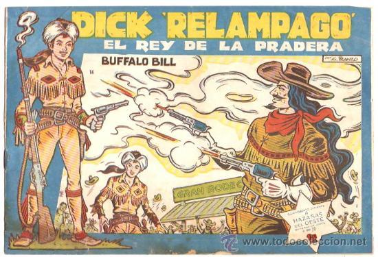 DICK RELAMPAGO Nº 14 - TORAY - ORIGINAL (Tebeos y Comics - Toray - Dick Relampago)