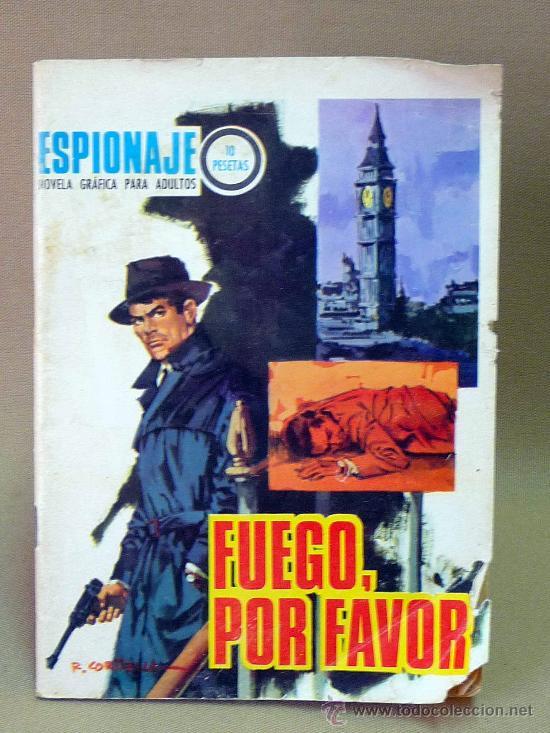 COMIC, NOVELA GRAFICA PARA ADULTOS, ESPIONAJE, Nº 59, TORAY (Tebeos y Comics - Toray - Espionaje)