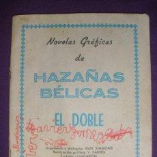 Tebeos: NOVELAS GRAFICAS DE HAZAÑAS BELICAS (EL DOBLE).. Lote 26590908