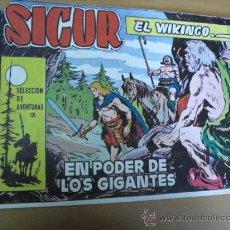 Tebeos: SIGUR EL WIKINGO Nº 131, DE TORAY 1958 PICO CORTADO. Lote 26766370