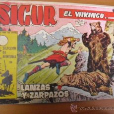 Tebeos: SIGUR EL WIKINGO Nº 138, DE TORAY 1958. Lote 26766458