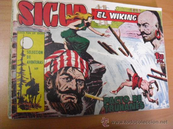 SIGUR EL WIKINGONº 149, DE TORAY 1958 (Tebeos y Comics - Toray - Otros)