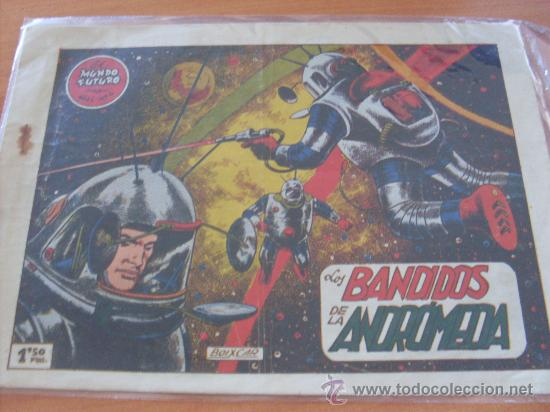 EL MUNDO FUTURO Nº 4 ( ORIGINAL ED. TORAY ) (S5) (Tebeos y Comics - Toray - Mundo Futuro)
