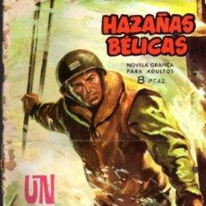 Tebeos: HAZAÑAS BÉLICAS, NOVELA GRÁFICA - Nº 92 - UN MILLONARIO EN LA GUERRA. Lote 26907777