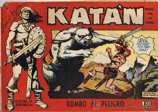 KATAN Nº 4 - ORIGINAL DE 1958 - RUMBO AL PELIGRO (Tebeos y Comics - Toray - Katan)