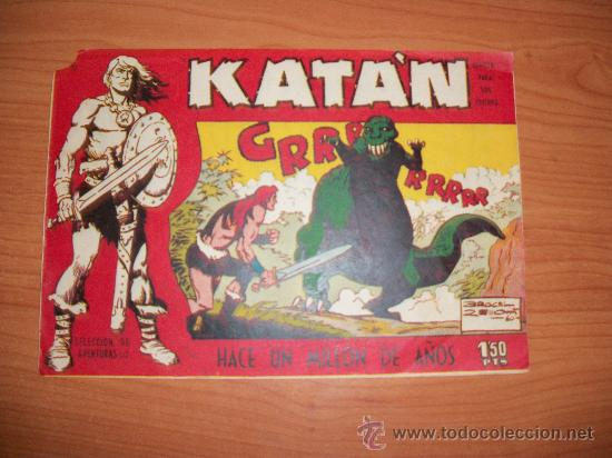 KATÁN Nº 10 EDITORIAL TORAY ORIGINAL (Tebeos y Comics - Toray - Katan)