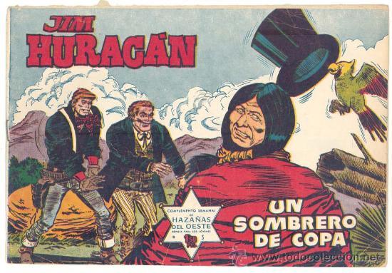 JIM HURACAN N.º 5, ORIGINAL (Tebeos y Comics - Toray - Otros)