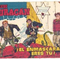 Tebeos: JIM HURACAN N.º 7, ORIGINAL. Lote 27191953