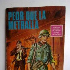 Tebeos: PEOR QUE LA METRALLA, ED.TORAY, Nº54. Lote 27678271