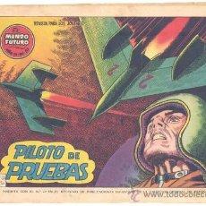 Tebeos: EL MUNDO FUTURO Nº. 52 , ORIGINAL. Lote 27793597