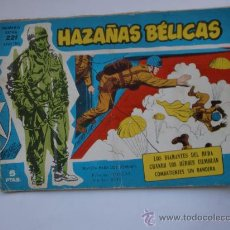 Tebeos: HAZAÑAS BELICAS Nº221 TAPA CARTON ORIGINAL . Lote 27987956