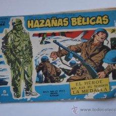 Tebeos: HAZAÑAS BELICAS Nº144 TAPA CARTON ORIGINAL . Lote 27988151