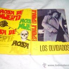 Tebeos: NOVELA PARA ADULTOS Nº 54. LOS OLVIDADOS. ESPIONAJE. EDICIONES TORA 1967 (ERIC). Lote 28109913