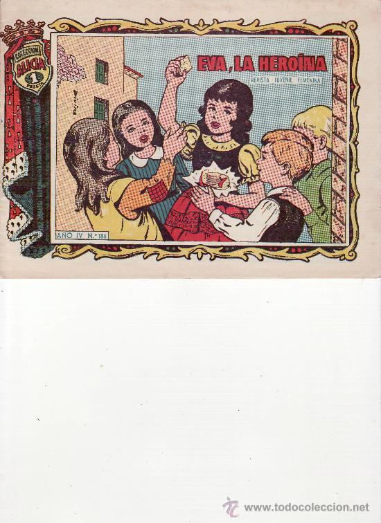 EVA, LA HEROINA AÑO IV Nº 186 (Tebeos y Comics - Toray - Alicia)
