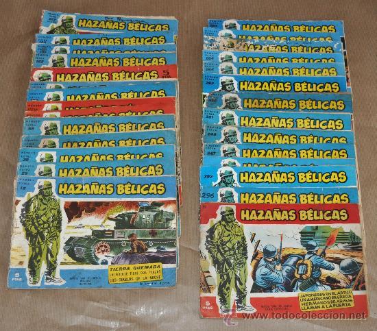 LOTE DE 26 EXTRAS DE HAZAÑAS BÉLICAS Y 3 HAZAÑAS BÉLICAS (Tebeos y Comics - Toray - Hazañas Bélicas)
