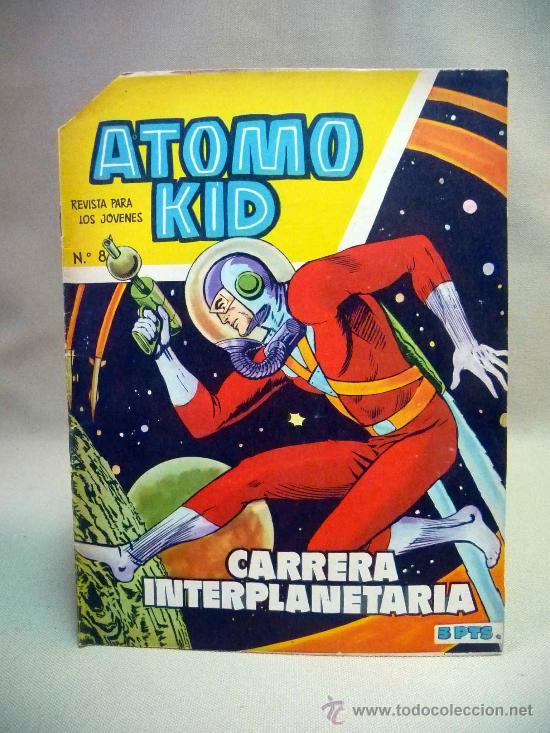 COMIC, ATOMO KID, CARRERA INTERPLANETARIA,, Nº 8, TORAY (Tebeos y Comics - Toray - Otros)