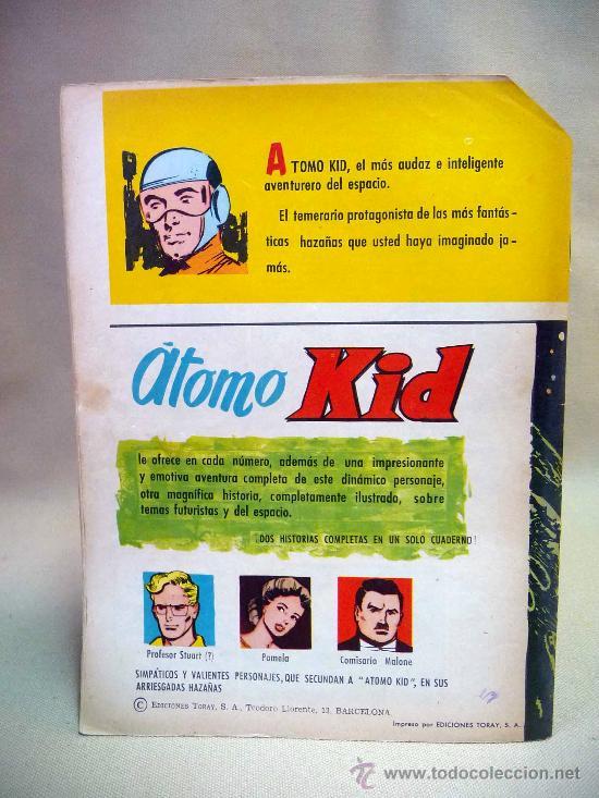 Tebeos: COMIC, ATOMO KID, CARRERA INTERPLANETARIA,, Nº 8, TORAY - Foto 2 - 28384283