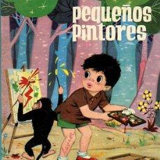 Tebeos: PEQUEÑOS PINTORES - CUADERNO DE COLOREAR - ED.TORAY 1961. Lote 28402637