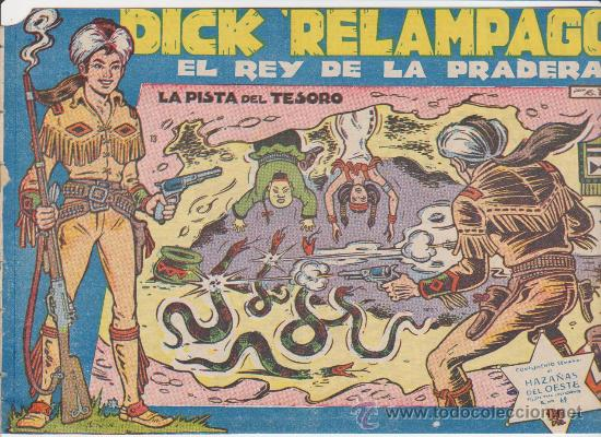 DICK RELÁMPAGO Nº 13. TORAY 1959. (Tebeos y Comics - Toray - Dick Relampago)