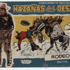 Tebeos: HAZAÑAS DEL OESTE Nº 18. TORAY 1958.. Lote 28619079
