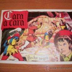 Tebeos: FLECHA NEGRA Nº 7 EDITORIAL TORAY 1950 EDICION FACSIMIL. Lote 28625689