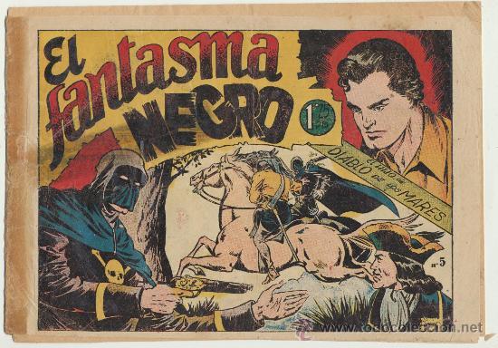 EL HIJO DE DIABLO DE LOS MARES Nº 5. TORAY 1949. (Tebeos y Comics - Toray - Diablo de los Mares)