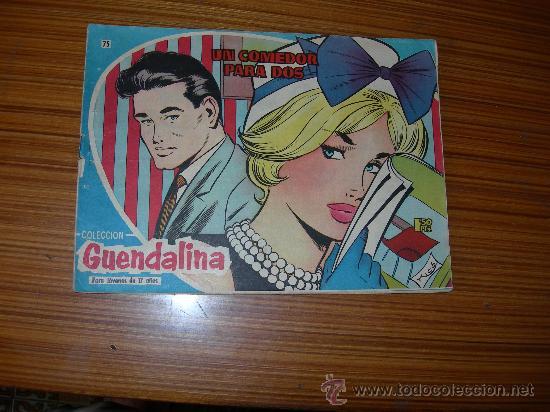 GUENDALINA Nº 75 DE TORAY (Tebeos y Comics - Toray - Guendalina)