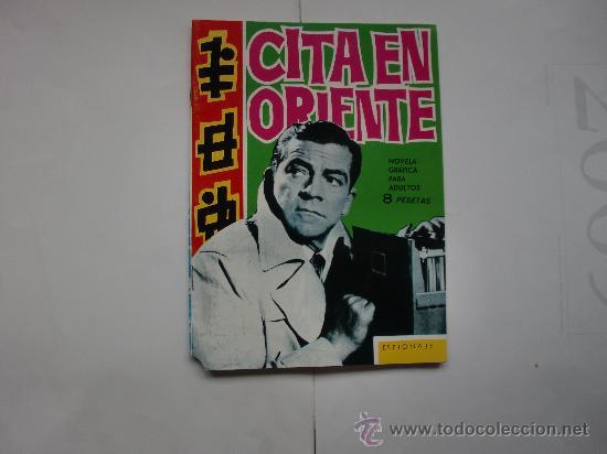 ESPIONAJE Nº 8 ORIGINAL ED. TORAY (Tebeos y Comics - Toray - Espionaje)