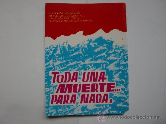 Tebeos: ESPIONAJE Nº 8 ORIGINAL ED. TORAY - Foto 2 - 28898259