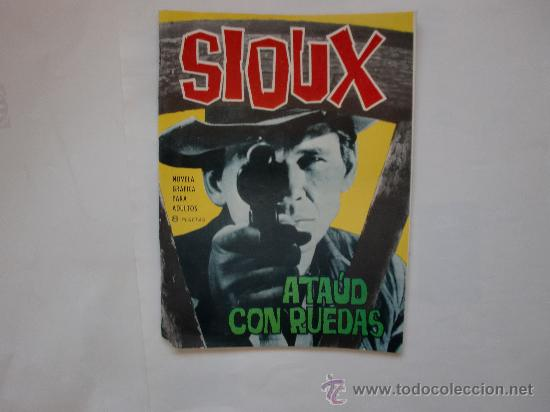 SIOUX Nº 30 TORAY ORIGINAL (Tebeos y Comics - Toray - Espionaje)