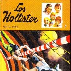 BDs: LOS HOLLISTER VAN AL CIRCO N7 12 EDICION 1981. Lote 29018635