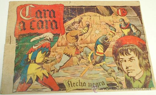 FLECHA NEGRA Nº 7 - ORIGINAL DIFICIL (Tebeos y Comics - Toray - Flecha Negra)