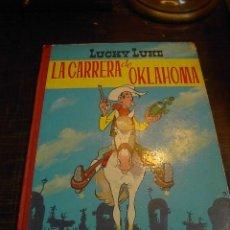 Tebeos: LUCKY LUKE, LA CARRERA DE OKLAHOMA, ED. TORAY, 2 ED. 1969. Lote 29121632