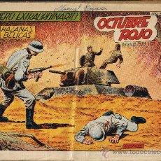 Livros de Banda Desenhada: OCTUBRE ROJO - Nº 189 EXTRAORDINARIO - HAZAÑAS BÉLICAS . Lote 29585956