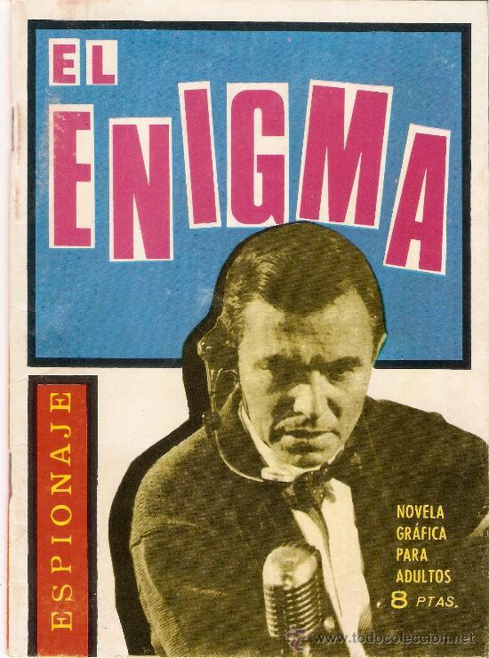 EL ENIGMA - ESPIONAJE - EDICIONES TORAY - Nº 18 -1965 (Tebeos y Comics - Toray - Espionaje)